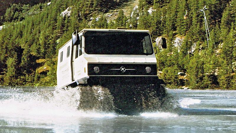 Das Flexmobil im Wassereinsatz