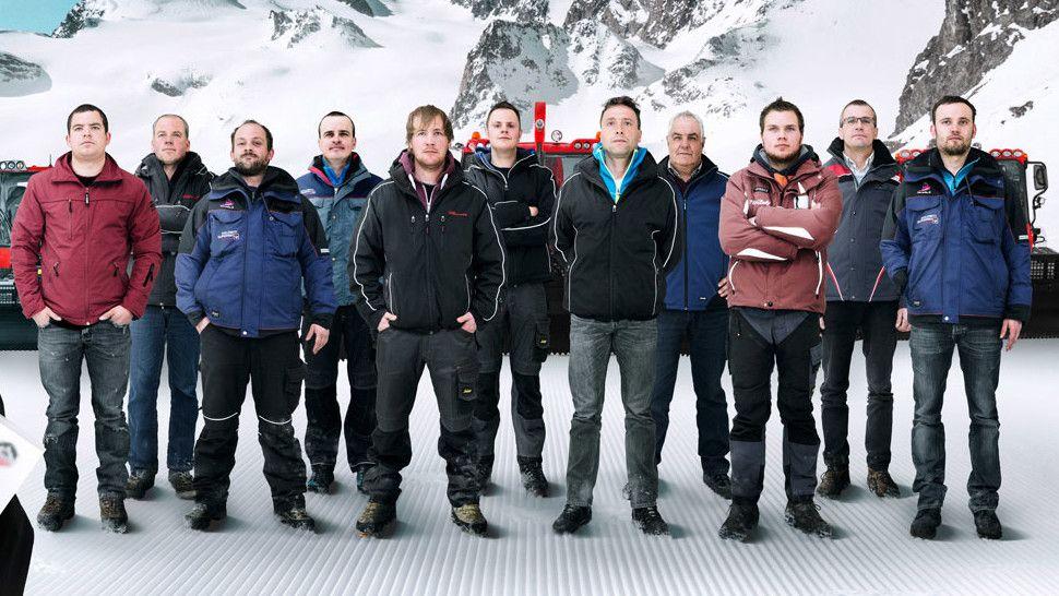 Ein Gruppenbild der der PRO ACADEMY Crew.