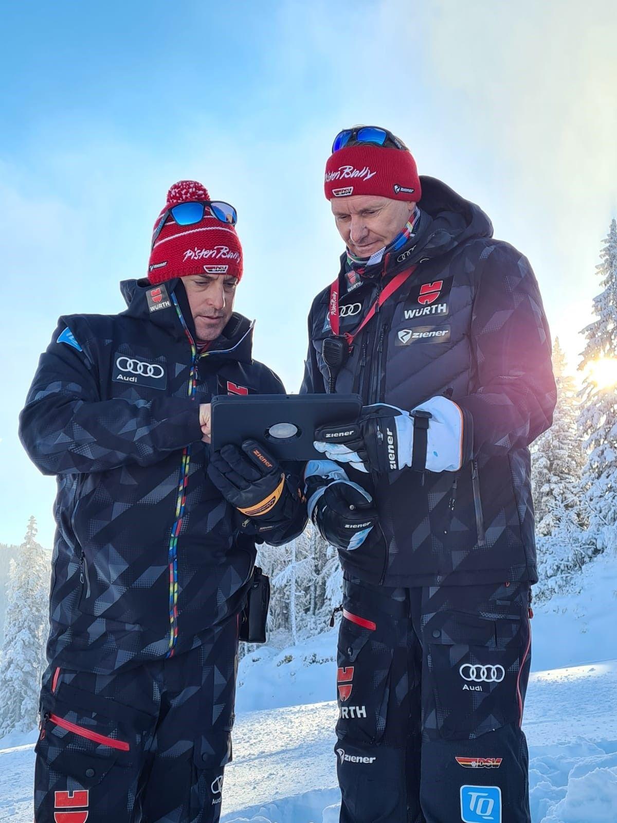 Kässbohrer PistenBully Sponsoring: DSV Trainer Ski Alpin