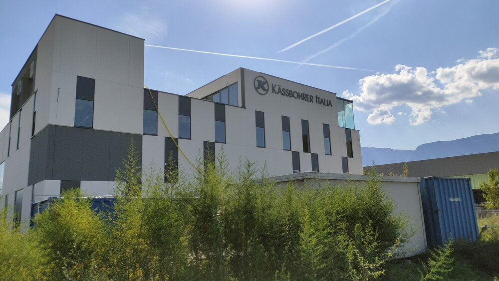 La ubicación de Kässbohrer Italia S.r.l. en Bolzano