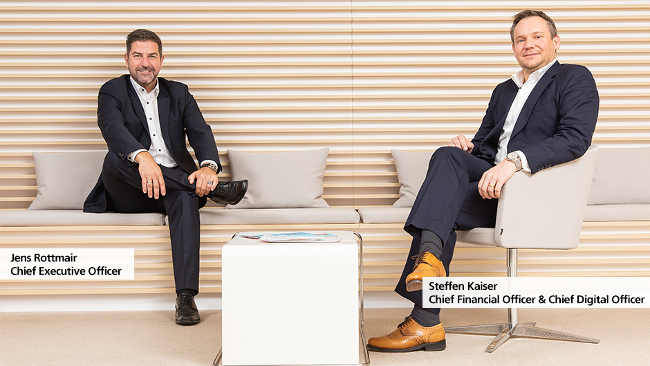 Jens Rottmair, Chief Executive Officer and Steffen Kaiser, Chief Financial Officer & Chief Digital Officer