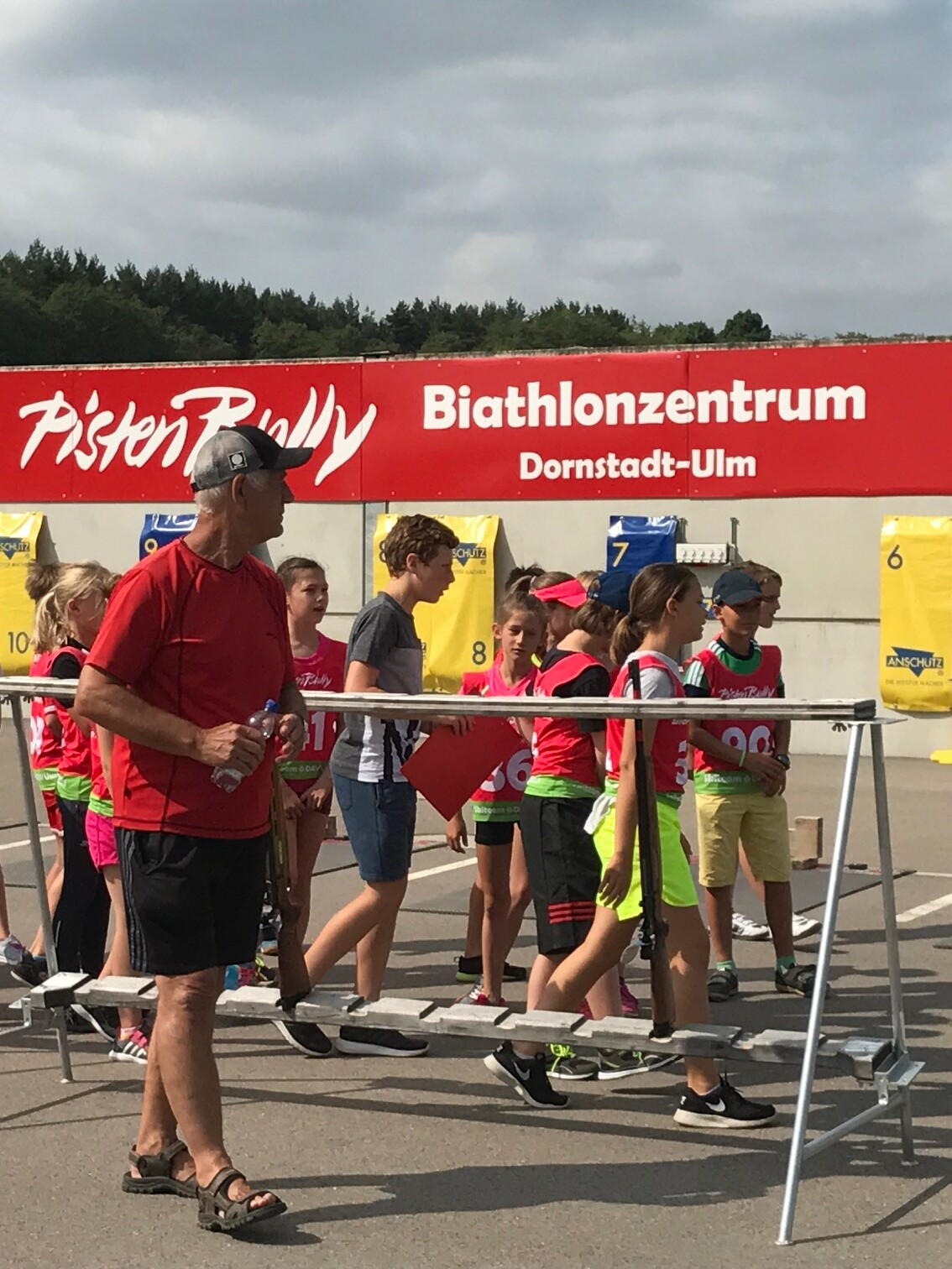 Kässbohrer PistenBully Sponsoring: PistenBully-Biathlonzentrum