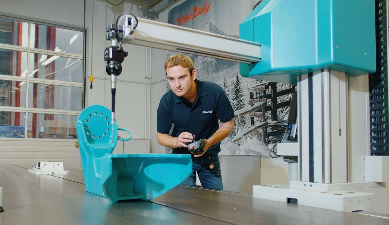 Inspección de calidad en kässbohrer