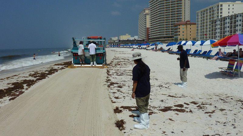 BeachTech bei der Ölkatastrophe am Golf von Mexiko