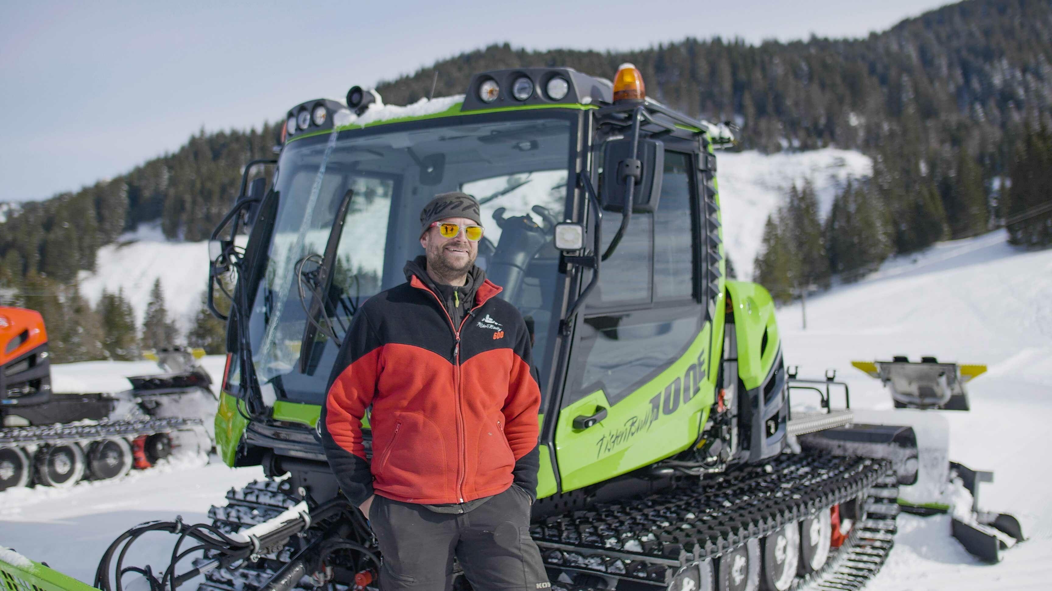 Stefan Steurer, Fahrer in Balderschwang