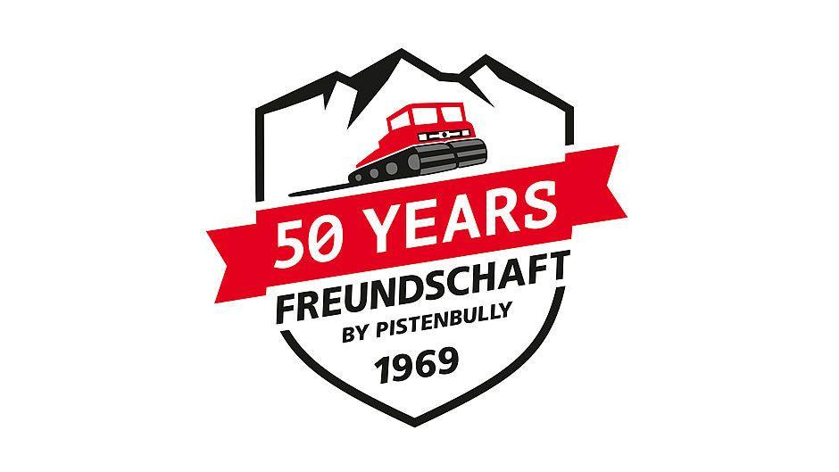 Das Logo: 50 Jahre Freundschaft by PistenBully, 1969