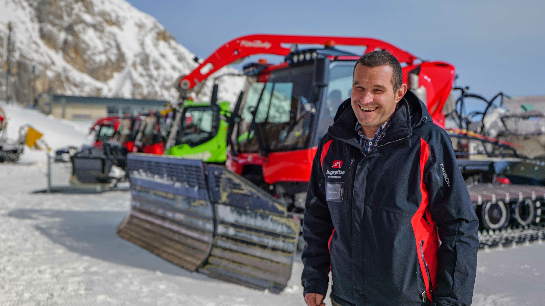 Martin Hurm, Betriebsleiter der Bayerischen Zugspitzbahn Bergbahn AG