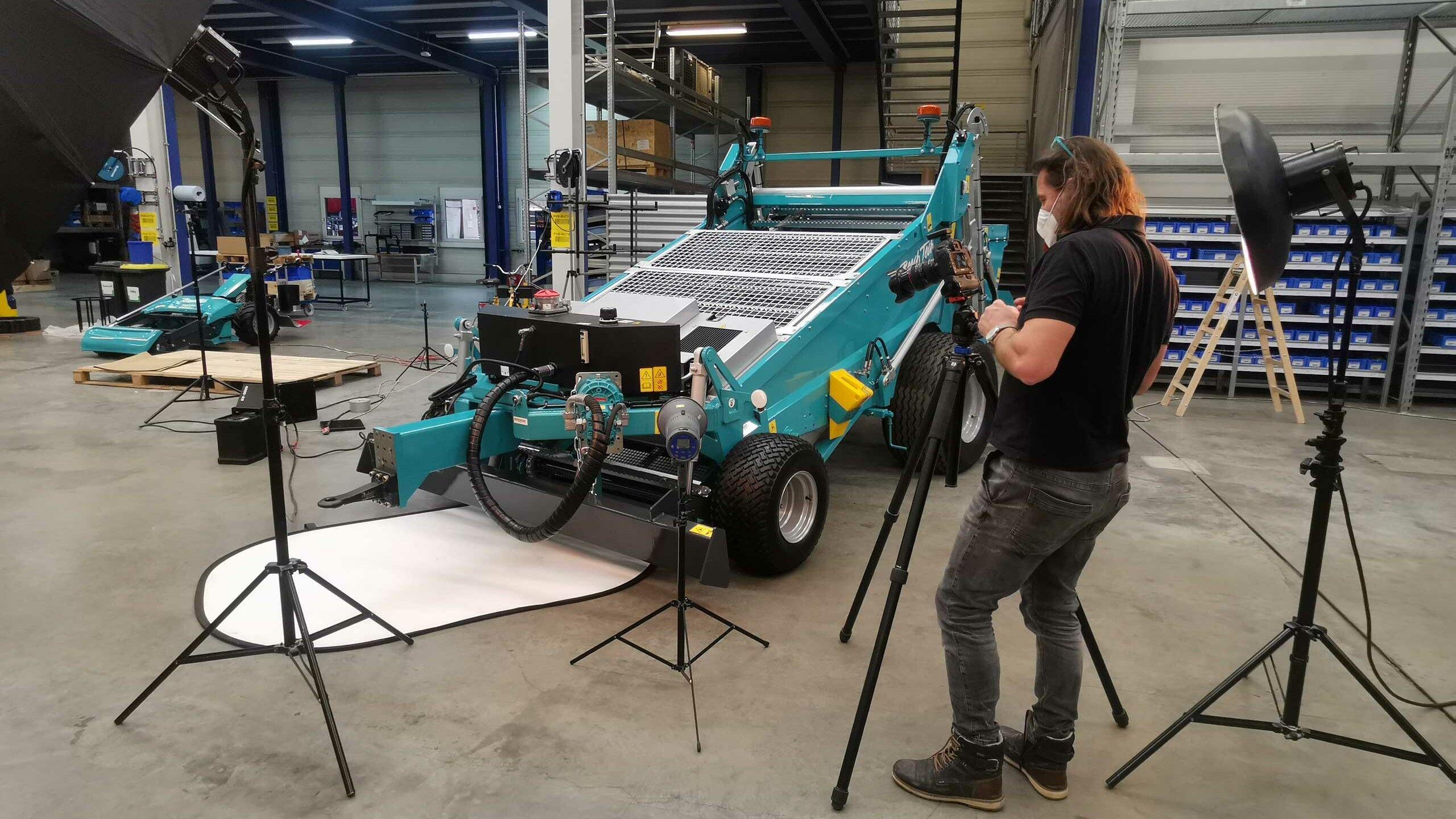 BeachTech 1500 im Showroom Making of