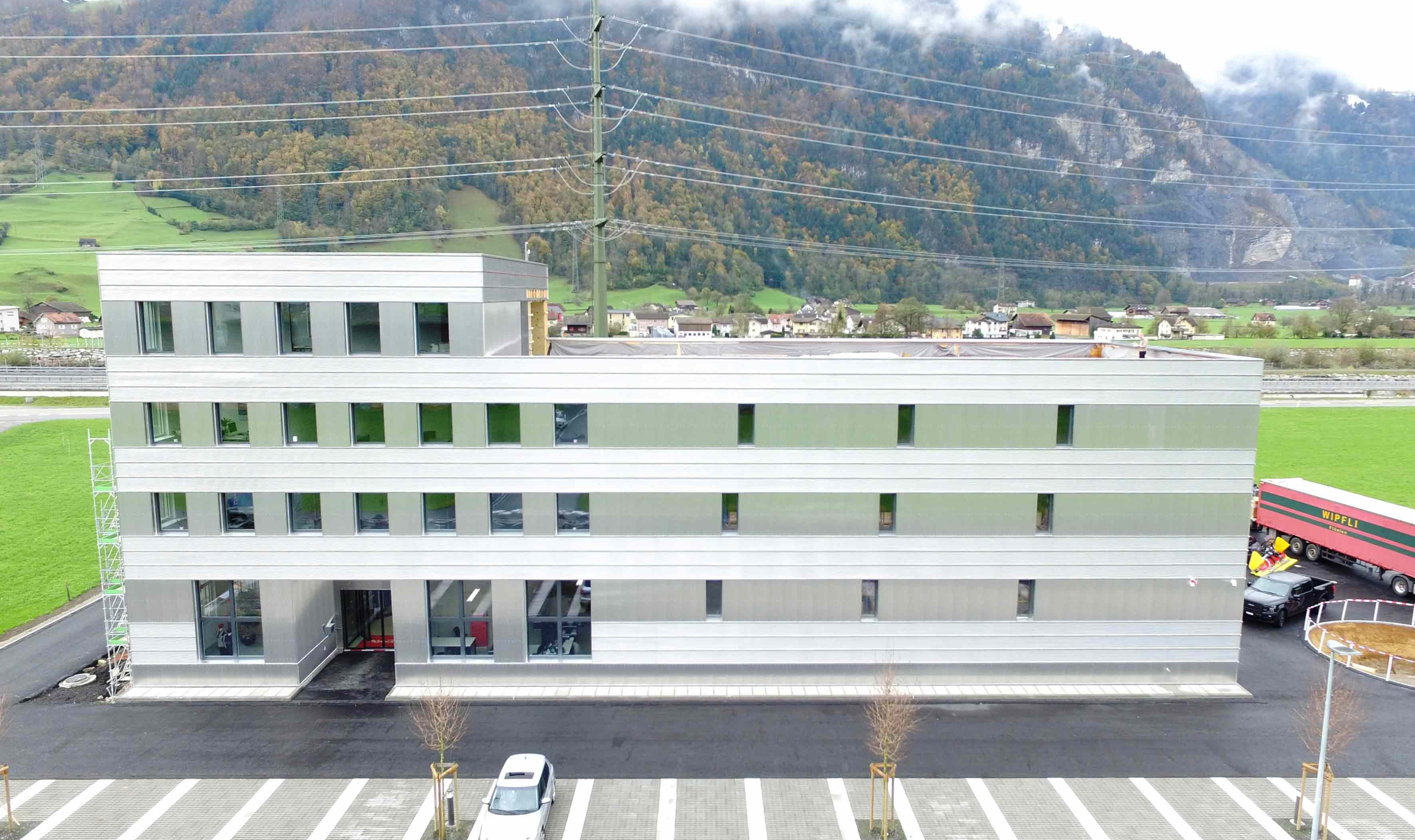 La ubicación de Kässbohrer Schweiz AG en Altdorf