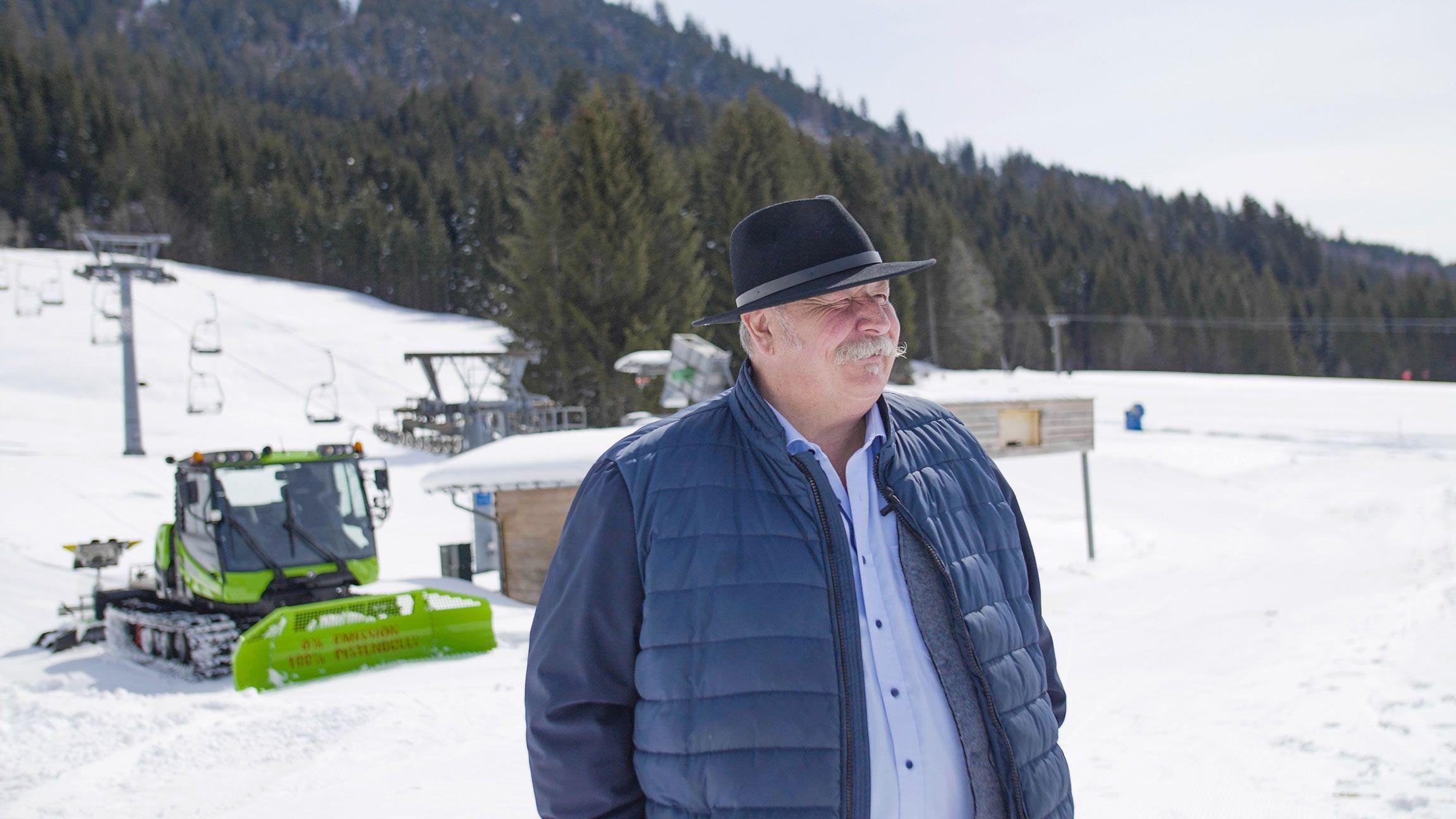 Konrad Kienle, Erster Bürgermeister der Gemeinde Balderschwang